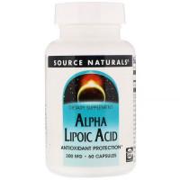 Alpha-lipoic Acid 300mg 60 caps