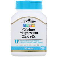 Calcium Magnesium Zinc + D3  90 tab
