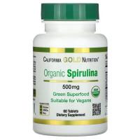 Organic Spirulina 500 mg 60 tab
