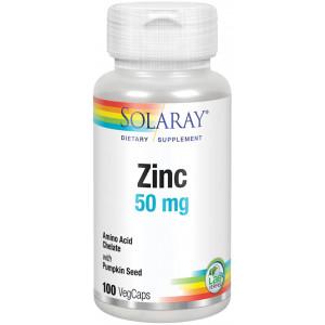 Zinc 50 mg 100 vegcaps